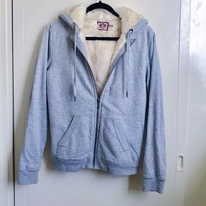 Juicy Couture Fur Lined Hoodie